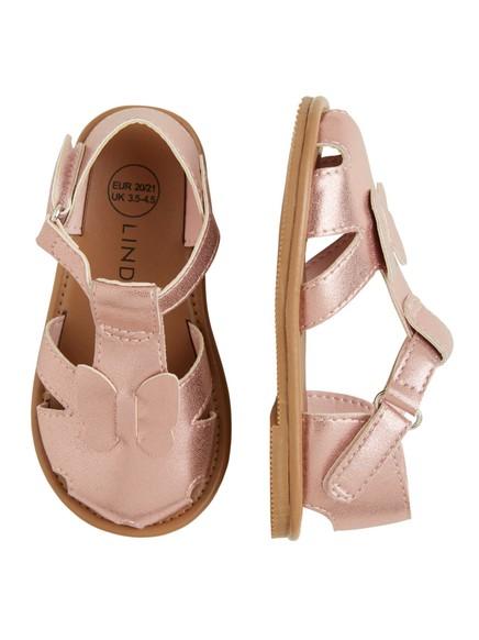 Skinnende sandaler Rosa