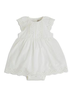 Bodysuit with Dress White