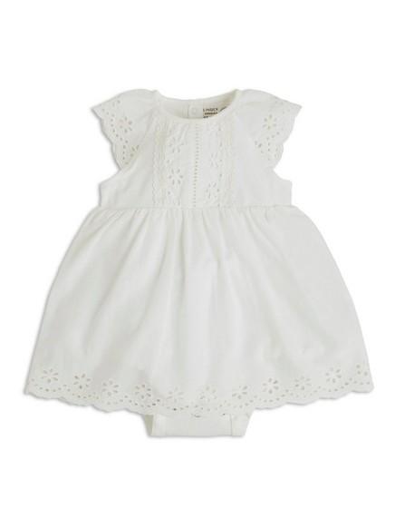 Body med kjole Hvit