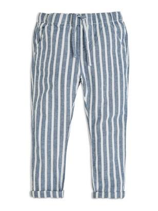 Bukse med ledig passform Blå