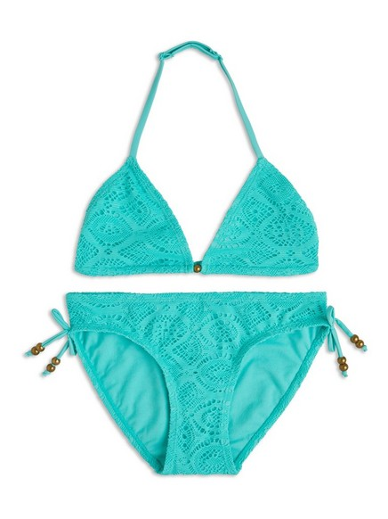 Bikini Havblå