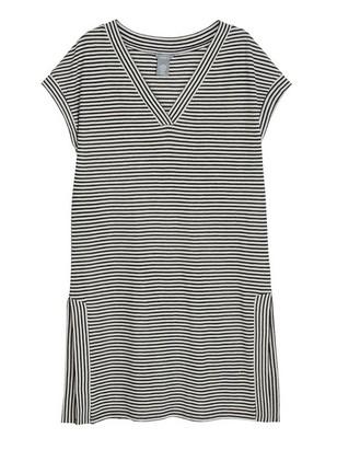 Striped Tunic Black