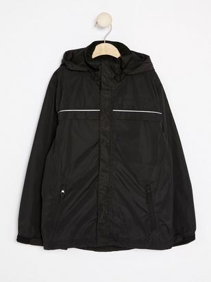 Rain Jacket Black