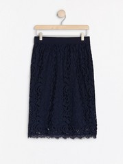 Krajková sukně Modrá