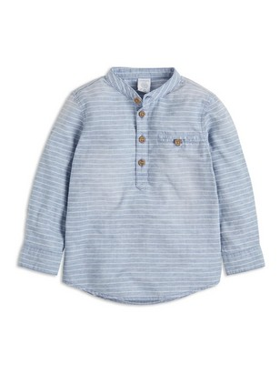 Raidallinen pusero Sininen