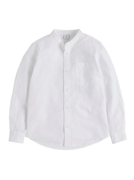 Kaulukseton pusero Valkoinen