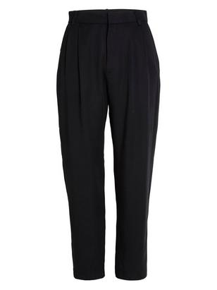ELLIE Tapered High Trousers Black