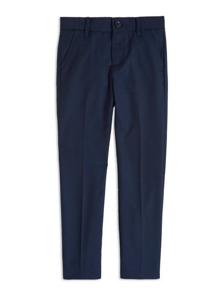 Společenské kalhoty Modrá