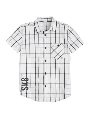 Short-sleeved Shirt White