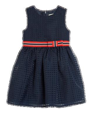 Chiffon Dress Blue