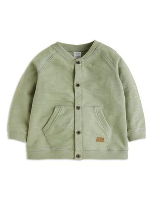Sweatshirt Jacket Green