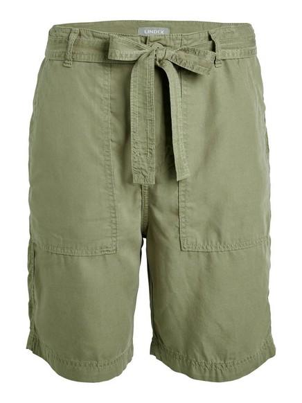 Shortsit Tencel®-kangasta Vihreä