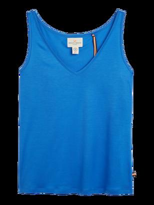 Tank top in Tencel® Blend Blue