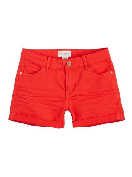 Smale shorts Rød