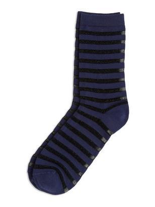 Sheer Socks Blue