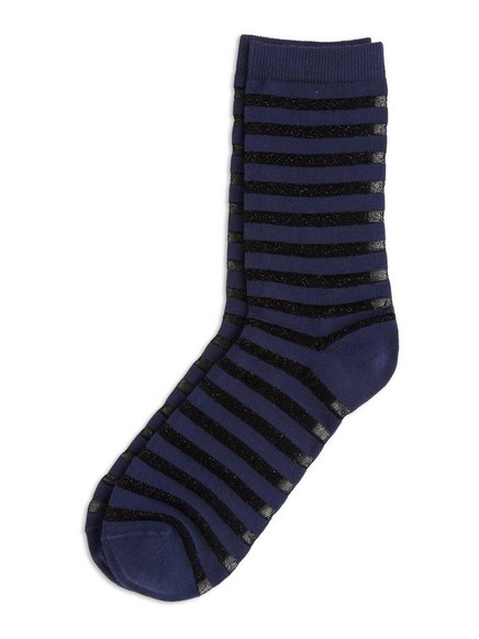 Sheer Socks Blue