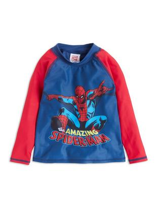 Sunprotection Top with Spider-man Red