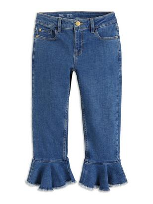 Slim Cropped Jeans Blue