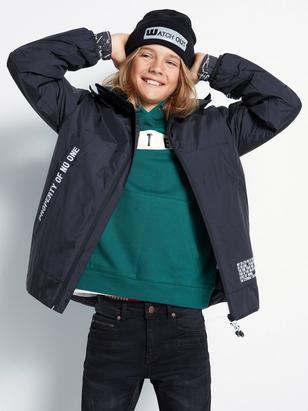 Padded Jacket Black