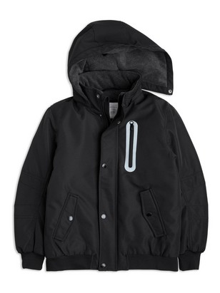 Polstret jakke Svart