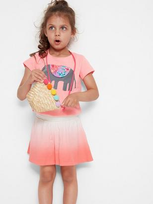 Wide Shorts Coral