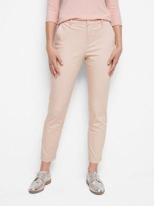 IRIS kapeat housut Vaaleanpunainen