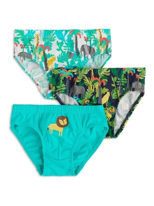 3-pack Briefs Turquoise