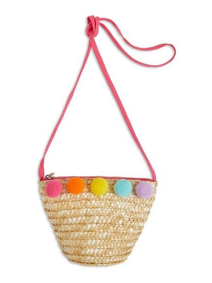 Mini Straw Bag Pink