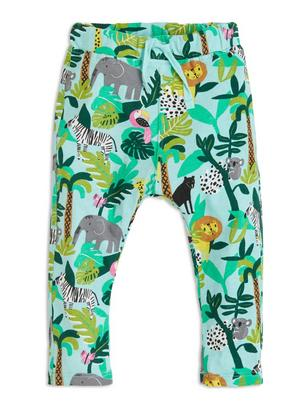 Jersey Trousers Turquoise