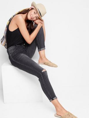VERA Skinny High Jeans Black