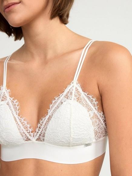Bralette-rintaliivit Valkoinen