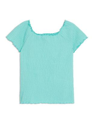 Smock Top Turquoise