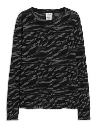 Thermal Merino Wool Top Black