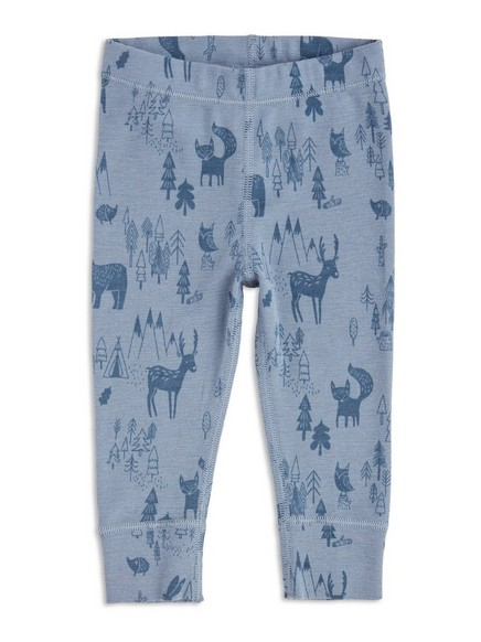 FIX Merino Wool Thermal Long Johns Blue