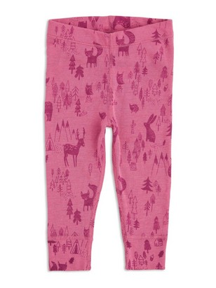 FIX Merino Wool Thermal Long Johns Pink