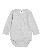 FIX Merino Wool Bodysuit Grey