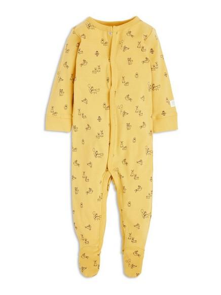 Pyžamo sťapkami Žlutá