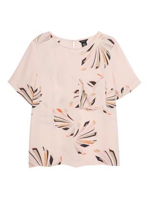 Short Sleeve Blouse Pink