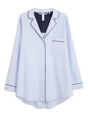 Blåstripete pyjamasjakke Blå