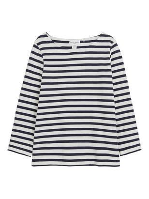 Striped Top White