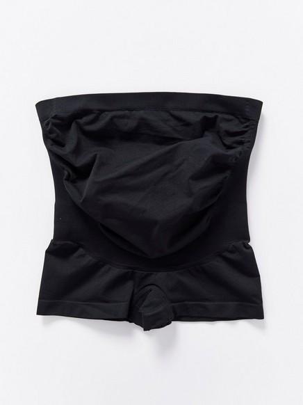 Podpůrné kalhotky snohavičkou MOM Černá