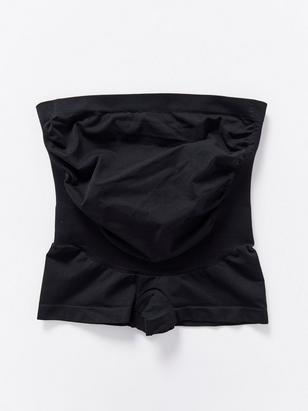 MOM Boxer Support Briefs Black