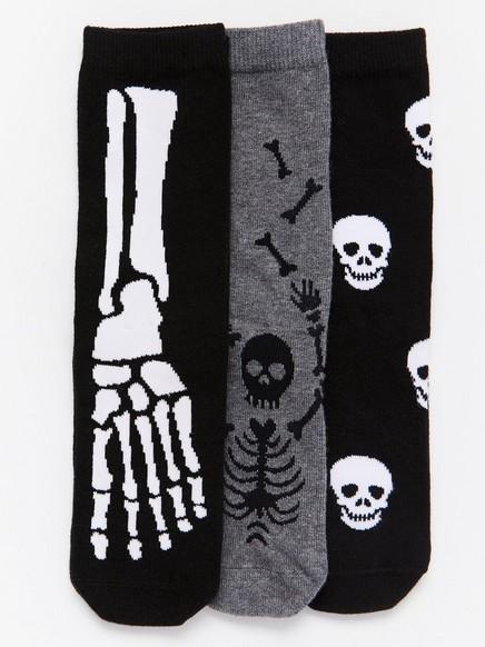 3-pack Socks Black