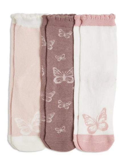 Sada tří párů ponožek Šedivá