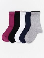 5-Pack Socks  Lilac