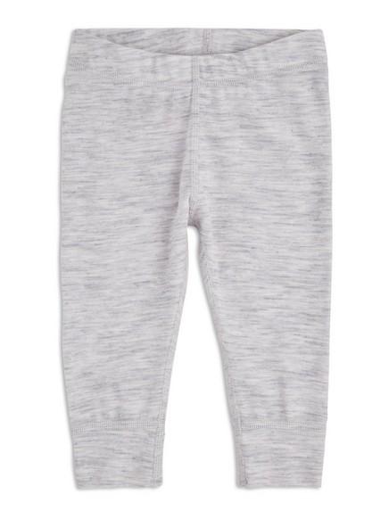 Termo podvlékací kalhoty zmerino vlny FIX Šedivá