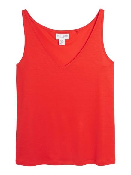 Topp i Tencel® Rød