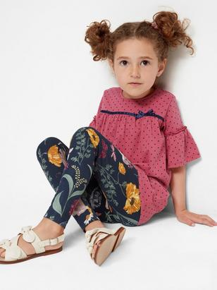 Top with Bell Sleeves Pink