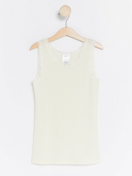 FIX Thermal Merino Wool Top White