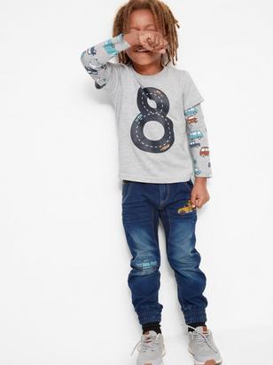 Loose Jeans Blue